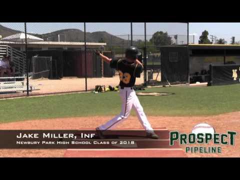 Jake Miller Prospect Video, Inf,Newbury Park High School Class of 2018