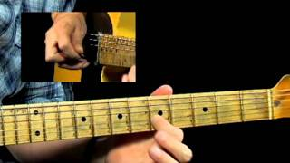 50 Rhythm & Blues Licks - #9 Mercedes Bends - R&B Guitar Lesso