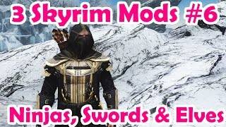 3 Skyrim Mods: ESO Breton Armour, Swords & Elves