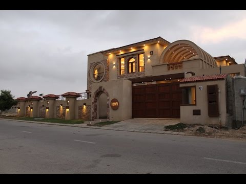 DREAM HOUSE FOR SALE IN DREAM VILLA KARACHI PAKISTAN!!! MODEL HOUSE