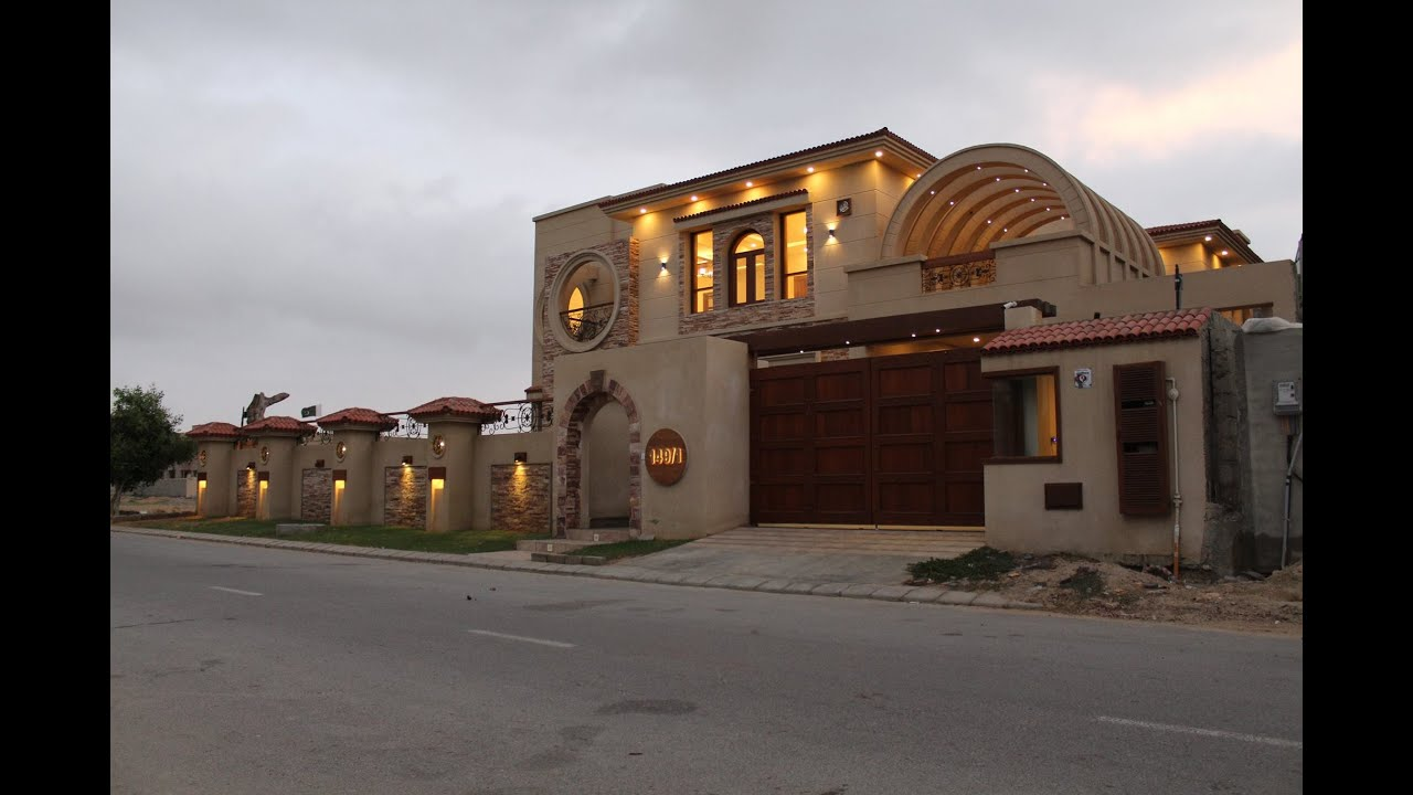 Dream house for sale in dream villa karachi pakistan for Dream house for sale