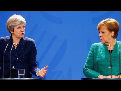 Brexit : Theresa May à Berlin