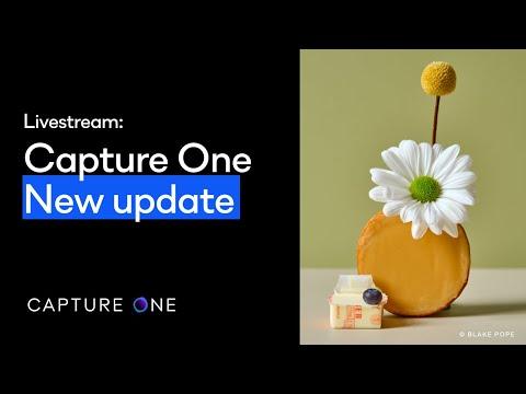 Capture One 21 Livestream: Quick Live | Capture One - New update
