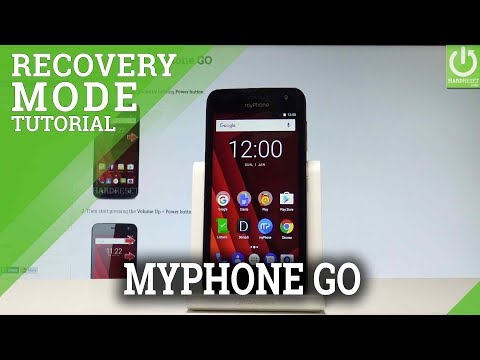 How To Boot Into Recovery Mode In MyPhone GO |HardReset.info