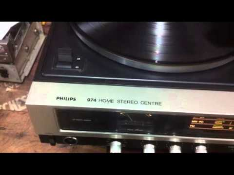PHILIPS 974 HOME STEREO CENTER