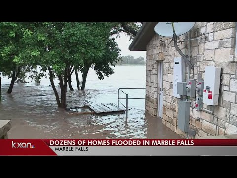 Residents in Marble Falls pushed out of homes by rising floodwaters