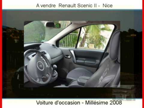 achat vente une renault scenic ii nice youtube. Black Bedroom Furniture Sets. Home Design Ideas
