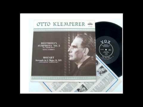 Otto Klemperer Wiener Symphoniker Beethoven symphony 5 c minor VOX LP 1951