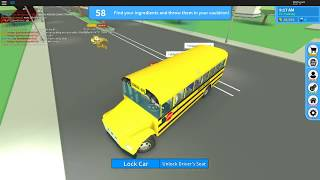 RIDE ON THE ROBLOX SCHOOL BUS