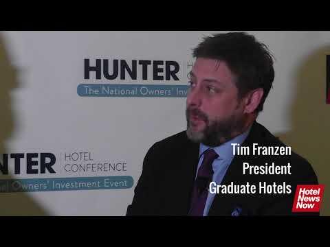 Hotel News Now interviews Graduate Hotels' Tim Franzen