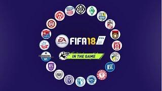 FIFA 18 mit der deutschen 3. Liga!