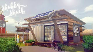 Shabby Shack 🏗️ 🏚️ | Under 20K Off Grid Tiny Starter | The Sims 4 Eco Lifestyle | CC Free + Download