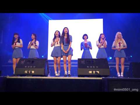 4K 161015 2부-10 B612・ENDING OH MY GIRL Fanmeeting~Special~in Taipei (오마이걸)