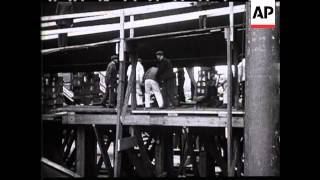 LAUNCH OF HMS ORION - NO SOUND