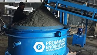 Изготовление бетонных / жби колец в больших количествах(Линия производства жби колец с производительностью от 40шт в смену. Узнайте подробнее тут - http://pmepress.com/vibropress..., 2016-01-02T14:17:42.000Z)