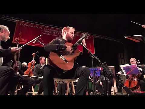 Marko Topchii plays Manuel Ponce Concierto del sur for guitar and orchestra