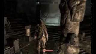 Skyrim - Dimhollow Crypt Walkthrough - (Crom ep. 24)