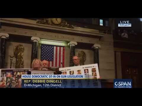 Michigan Rep  Debbie Dingell describes unstable father in sit-in