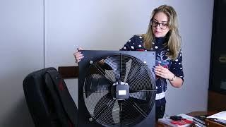 Осевой вентилятор SIGMA 300 обзор
