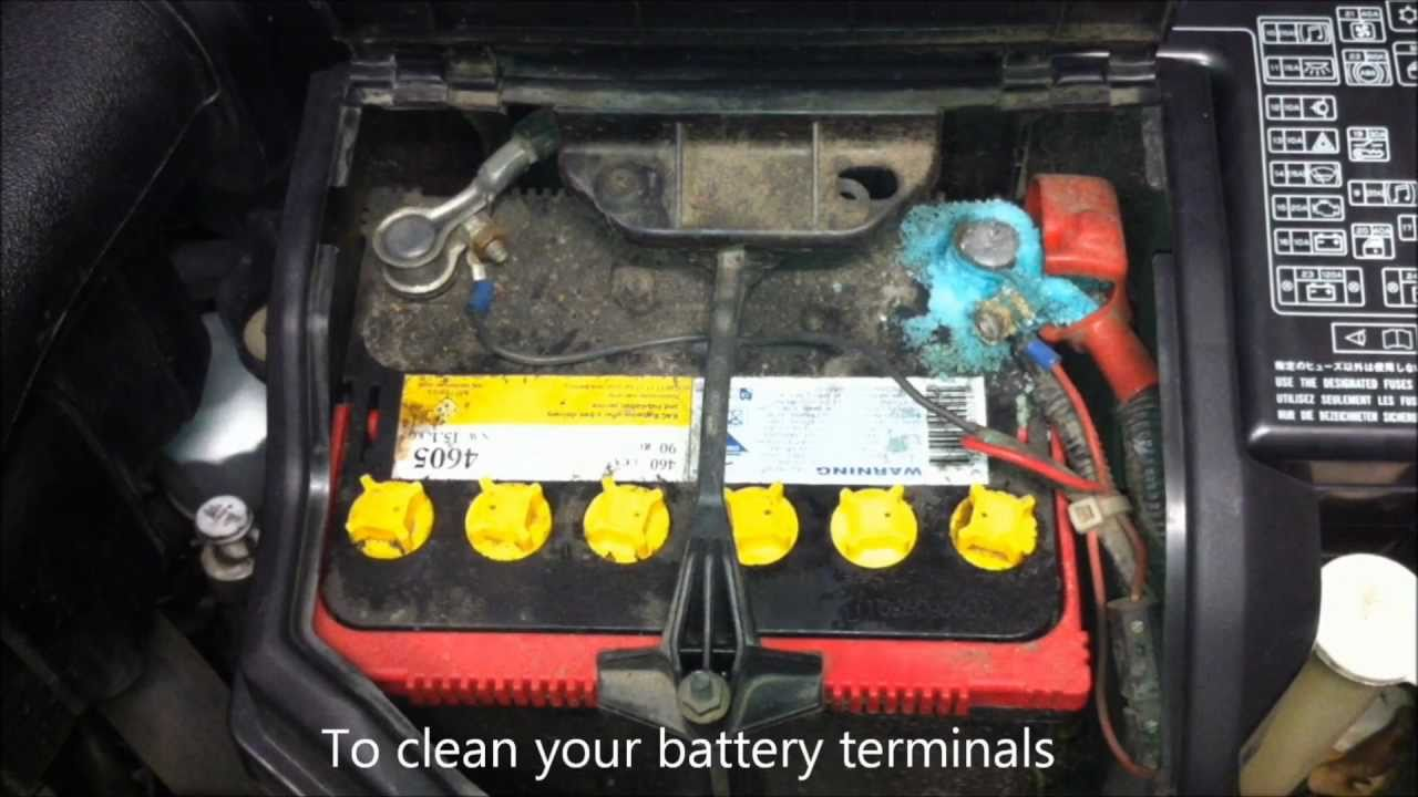 How To Clean Battery Terminals With Coke Youtube