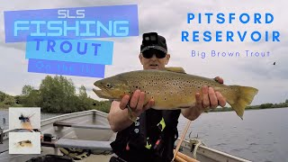My best days trout fishing EVER Pitsford beautiful 6lb 8oz Brown Trout