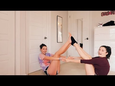 yoga challenge w my best friend thumbnail