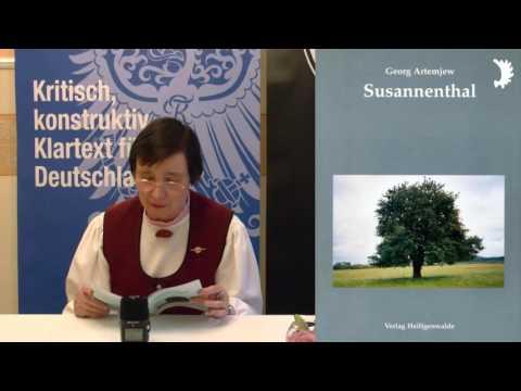 """""""Susannenthal"""" von Georg Gawrilowitsch Artemjew – vorgestellt von Dr. Bärbel Beutner"""
