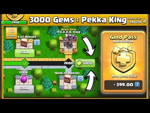 Let's Unlock Pekka King Skin With 3000 Gems - Clash Of Clans India