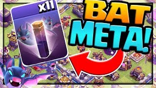 THE BAT META! Clash of Clans Strategy for Town Hall 12 - TOO Strong?