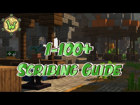 1 – 100+ Scribing | Crafting Ingredient Guide | Wynncraft | Profession Guide