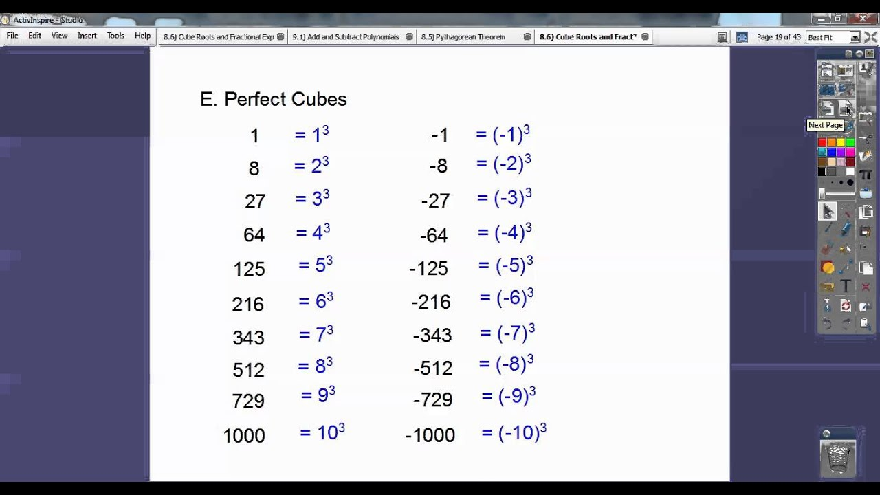 math worksheet : cube roots and fractional exponents  section 8 6  youtube : Fractional Exponents Worksheet