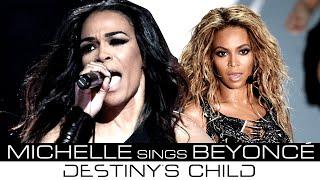 Michelle Williams singing Beyoncé's leads