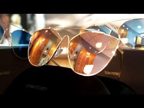 89fac1ebccd Tom Ford Ladies Aviators at Silverberg. Silverberg Opticians