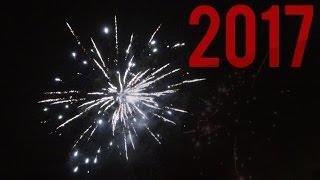 Tervetuloa 2017! (Rakettien ampumisvideo)