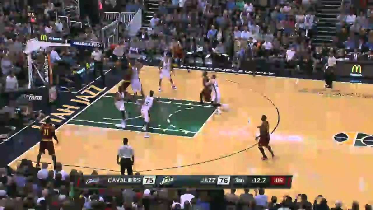 from Vicente lebron james blocks rudy gay