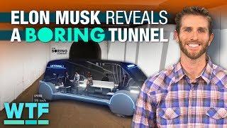 Inside Boring Company's LA tunnel | What The Future