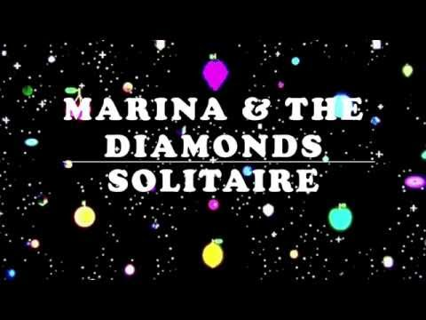 Solitaire - Marina & The Diamonds [LYRICS]