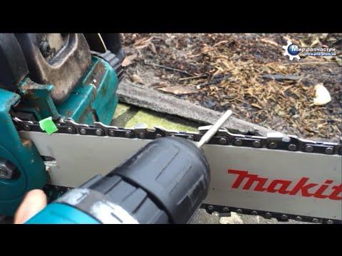 Как заточить цепь электропилы 23