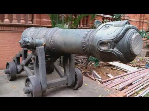 Canons of King tippu sultan tiger of mysore