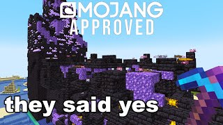 I Submitted A Fake 1.17 Minecraft Speedrun To Mojang And This Happened...