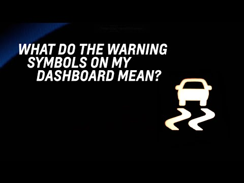 What do the warning symbols on my dashboard mean? - Chevrolet Complete Care