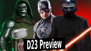 D23 Marvel & Star Wars Preview: Episode 9 Trailer? MCU Phase 5?