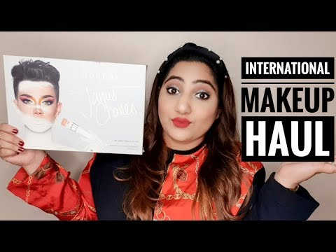 International Makeup Haul | Jeffery Star, James Charles, Benifit & Sephora  | Mansi Nautiyal Mehta thumbnail
