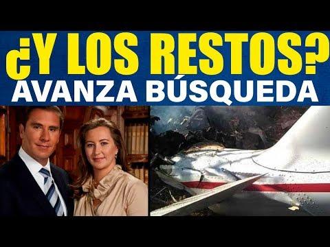 BUSCAN LOS RESTOS DE RAFAEL MORENO VALLE Y MARTHA ERIKA ALONSO