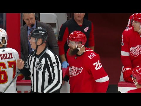 Luke Witkowski suspended ten games for leaving the bench