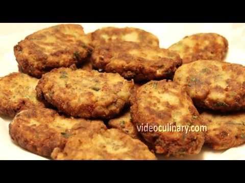 Italian Eggplant Patties Recipe (Vegetarian) By Video Culinary