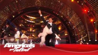 Olate Dogs - Returning Champs Show Off Amazing Pet Tricks - America's Got Talent 2013