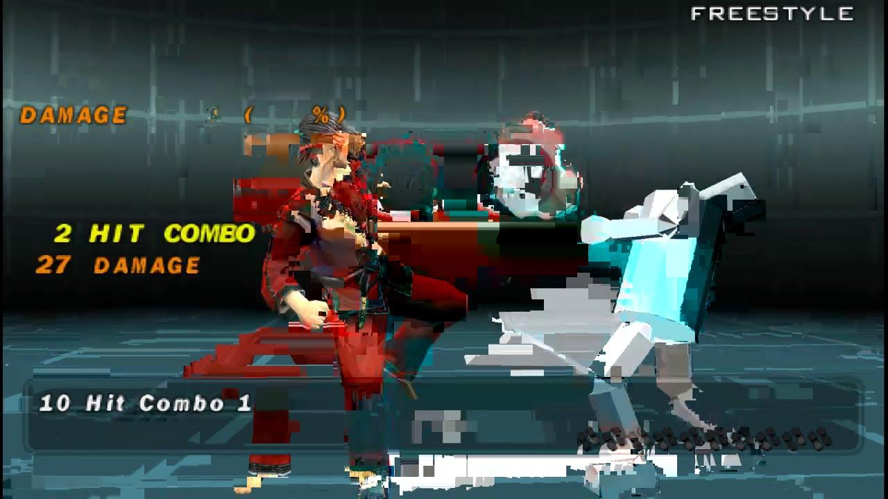 Tekken 5 Dark Resurrection Baek Doo San Command List Youtube