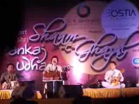 Chandi Jaisa Rang Hai Tera - Pankaj Udhas Live in Concert