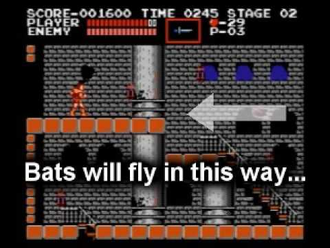 Castlevania - Level 1 Dungeon Bypass Trick